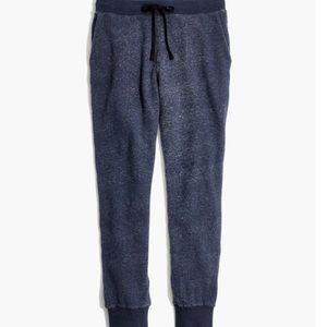Madewell EGUC heathered Ink joggers size XS